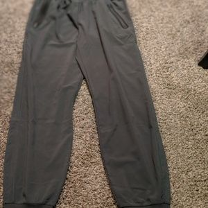 Army green track pant